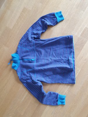 Pull long bleu violet-bleu
