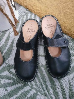 Finn Comfort Sandały z rzemykami czarny-ciemnoniebieski