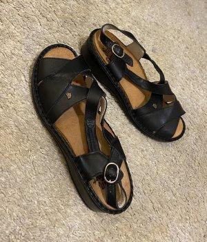 Finn Comfort Sandales confort noir-beige