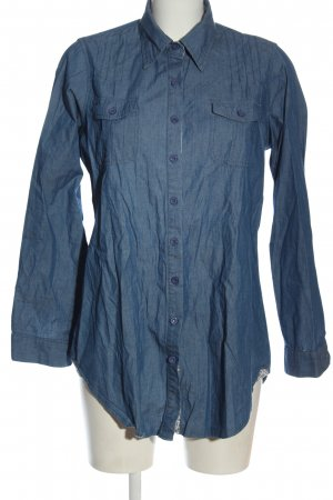 Fionella Long Sleeve Shirt blue casual look