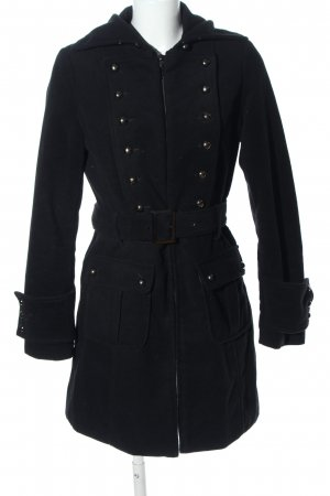 Fionella Pea Coat black casual look