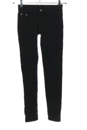 Fionina Spodnie z pięcioma kieszeniami czarny W stylu casual