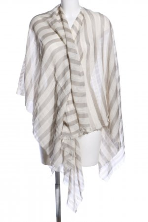 fiora blue Shoulder Scarf natural white-light grey allover print casual look