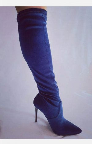 Fiore Stretch Boots blue