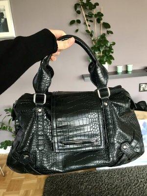 Fiorelli Bowling Bag black-silver-colored
