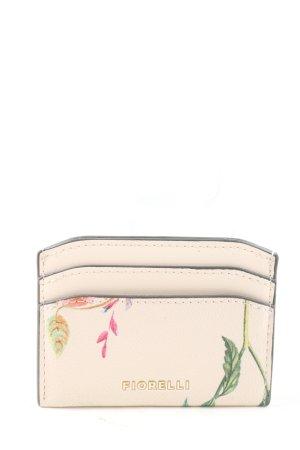 Fiorelli Custodie portacarte bianco sporco motivo floreale stile casual