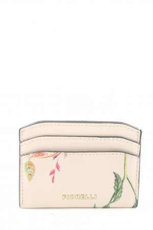Fiorelli Custodie portacarte rosa-cachi motivo floreale stile casual
