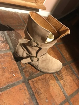 Fiorentini & baker Booties beige-camel leather