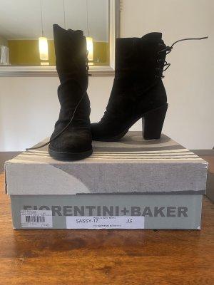 Fiorentini & Baker Ankle Boots Sassy Nero