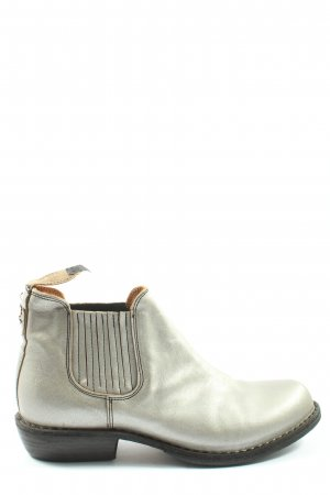 Fiorentini & baker Booties silver-colored casual look