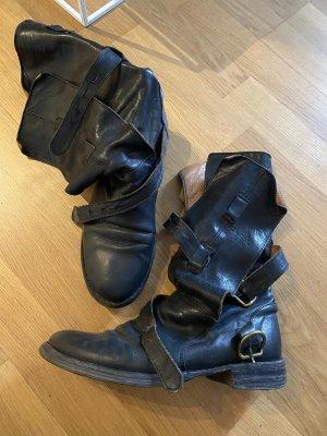 Fiorentini & baker Ocieplane buty czarny Skóra