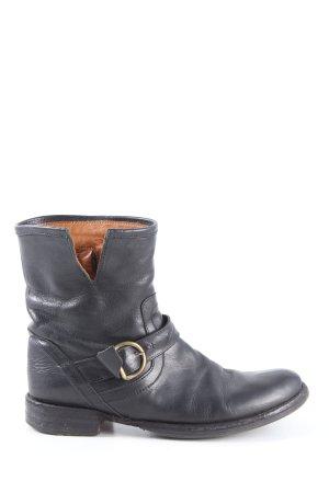 Fiorentini & baker Korte laarzen zwart casual uitstraling