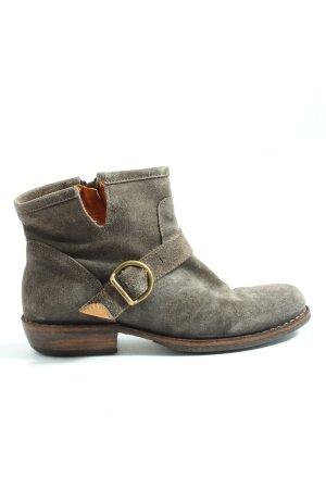 Fiorentini & baker Reißverschluss-Stiefeletten khaki Casual-Look