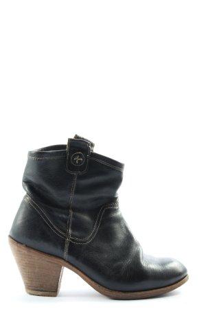 Fiorentini & baker Reißverschluss-Stiefeletten schwarz Casual-Look