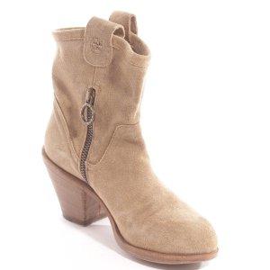 Fiorentini & baker Boots western beige cuir