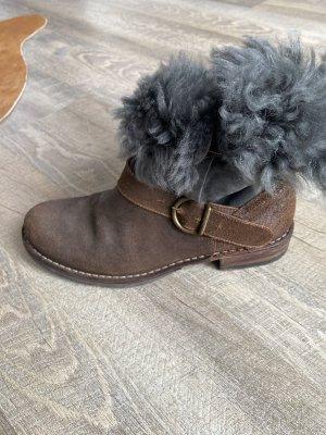 Fiorentini & baker Fur Boots dark grey-brown
