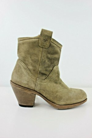 Fiorentini & baker Western Booties grey brown leather