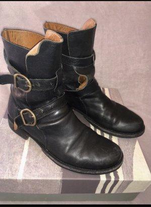 Fiorentini & baker Chukka boot noir cuir