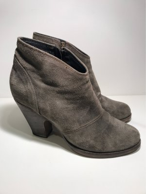 Fiorentini & baker Booties green grey-taupe suede