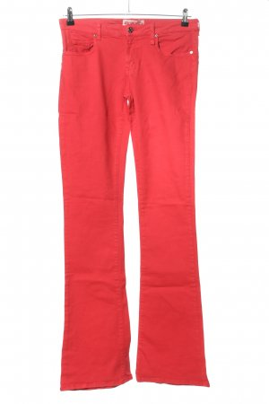 Fiorucci Denim Flares red casual look