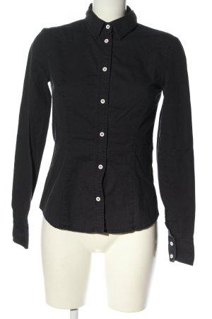 Fiorucci Camicia a maniche lunghe nero stile professionale