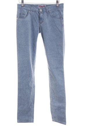 Fiorucci Slim Jeans himmelblau meliert Casual-Look