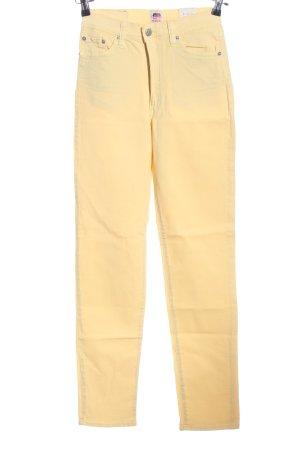 Fiorucci Straight-Leg Jeans creme Casual-Look