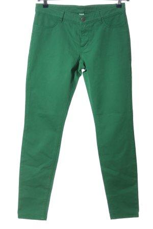 Fire + ice Pantalone a sigaretta verde stile casual