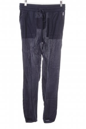Fire + ice Pantalone jersey nero stile casual