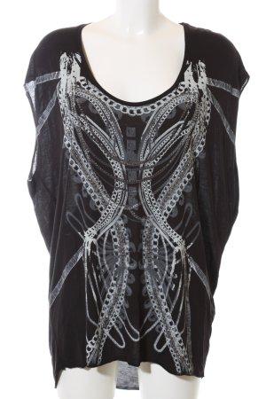 Firetrap Oversized Shirt abstraktes Muster Casual-Look