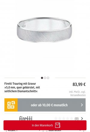 FIRETTI Zilveren ring zilver