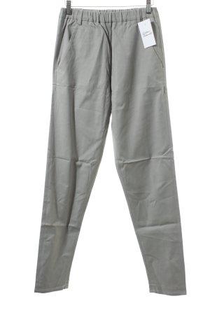 FIRMA Berlin Stoffhose grau schlichter Stil