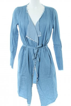 First and I Cardigan blau Casual-Look
