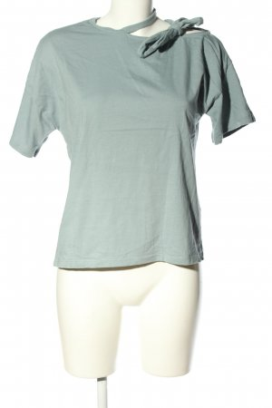 First and I T-Shirt blau Casual-Look