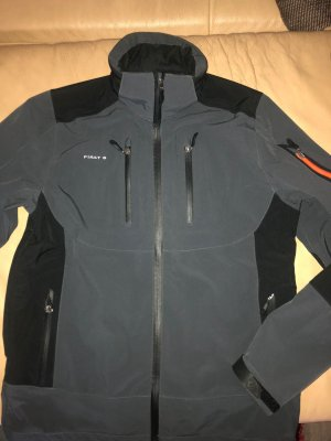 First B Outdoor Jacket black-grey