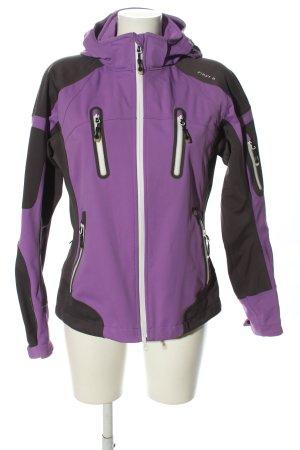 First B Softshell Jacket lilac-black athletic style