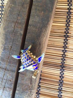 Medaillon blauw-goud