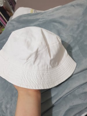 Atmosphere Bucket Hat white-natural white
