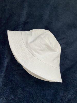 Cappello da pescatore bianco Cotone