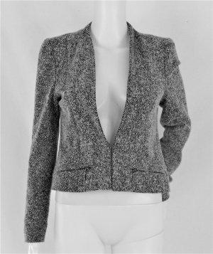 Fischgrat-Tweed-Blazer in cropped-Länge/weiches, angenehmes Material/WIE NEU!