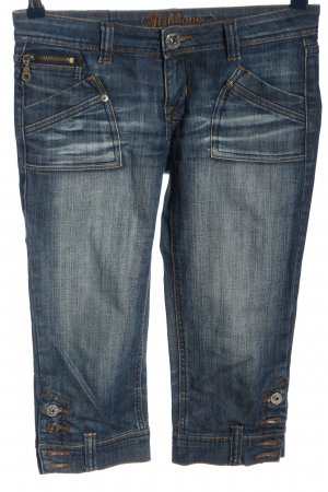 Fishbone 3/4 Length Jeans blue casual look