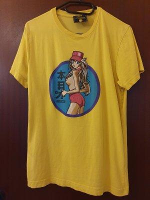 Fishbone T-shirt giallo