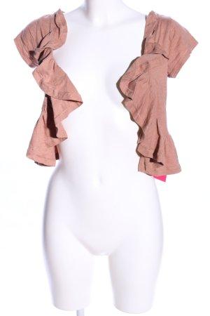 Fishbone Bolero pink Casual-Look