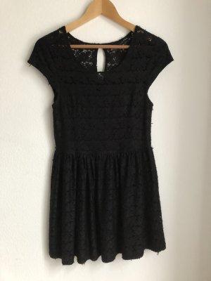 Fishbone Damen Kleid Sommerkleid Spitzenkleid