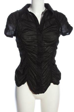 Fishbone Hemd-Bluse schwarz Casual-Look