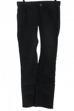 Fishbone Low Rise Jeans black casual look