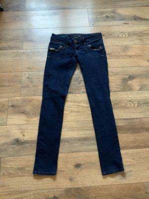 Fishbone Jeans skinny blu scuro
