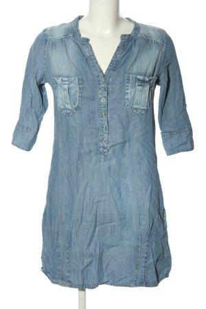 Fishbone Jeanskleid blau Casual-Look