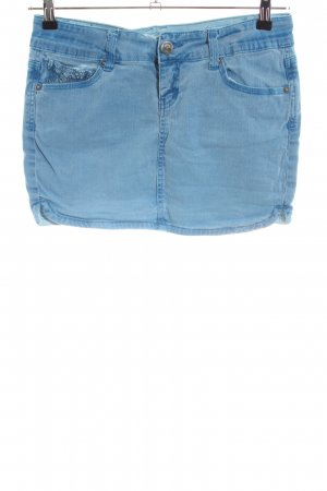 Fishbone Jeansrock blau Casual-Look