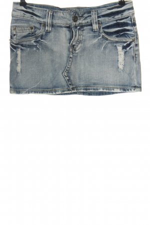 Fishbone Gonna di jeans blu stile casual